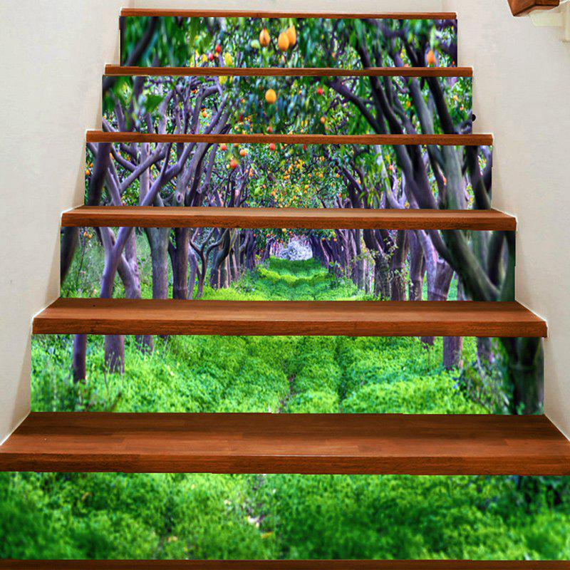 Latest Fruit Forest Pattern Decorative Stair Stickers