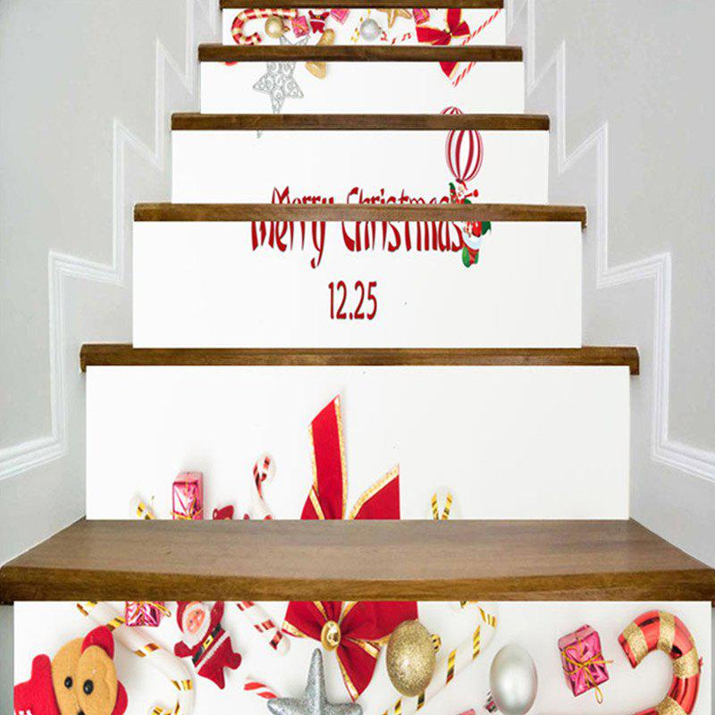 Éléments de Noël Print Home Decor Escaliers d'escalier