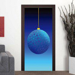 Geometric Ball Pattern Party Door Art Stickers -