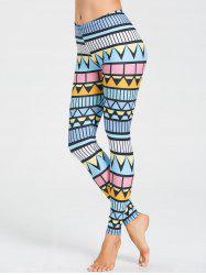 Leggings Skinny Triangle d'entraînement imprimé -