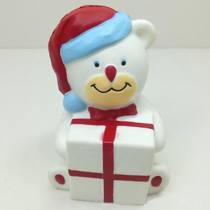 New Stress Relief Squishy Toy Slow Rising PU Simulation Christmas Bear