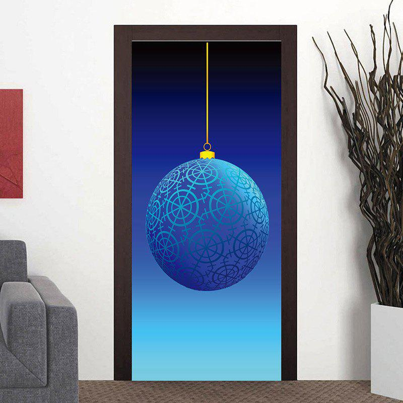 Trendy Geometric Ball Pattern Party Door Art Stickers