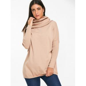 Cowl Neck Batwing Sleeve Sweater -