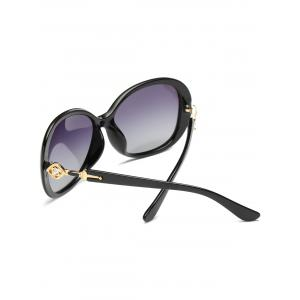 Vintage Rhinestone Inlay Embellished Oversized Sun Shades Sunglasses -