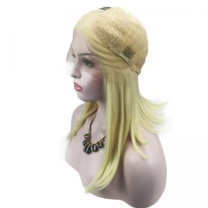 Medium Center Parting Straight Synthetic Lace Front Wig -