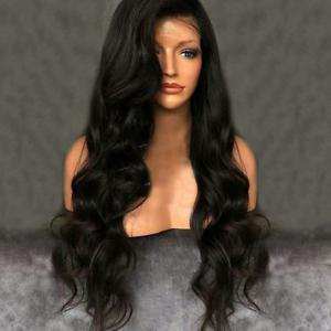 Free Part Shaggy Long Wavy Synthetic Lace Front Wig -
