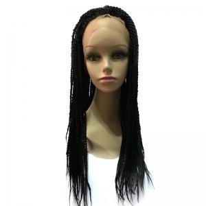 Long Twisted Braids Lace Front Synthetic Wig -