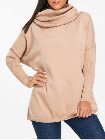 Outfit Cowl Neck Batwing Sleeve Sweater