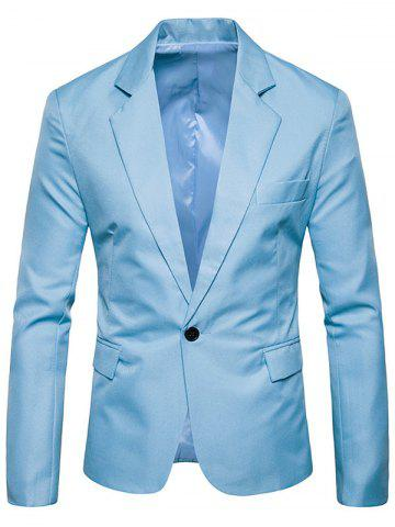 Hot Flap Pocket One Button Lapel Blazer