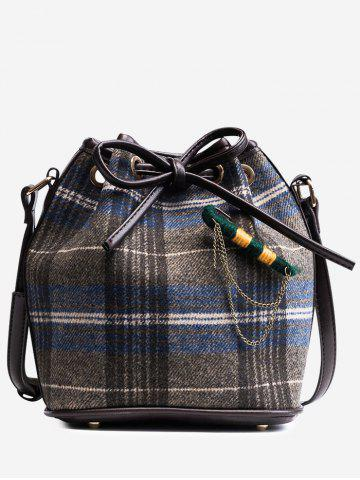 Trendy Gien Check Crossbody Bag