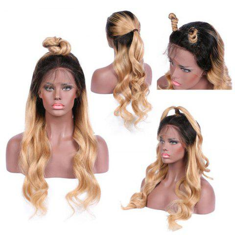 Online Long Free Part Wavy Ombre Lace Front Synthetic Wig
