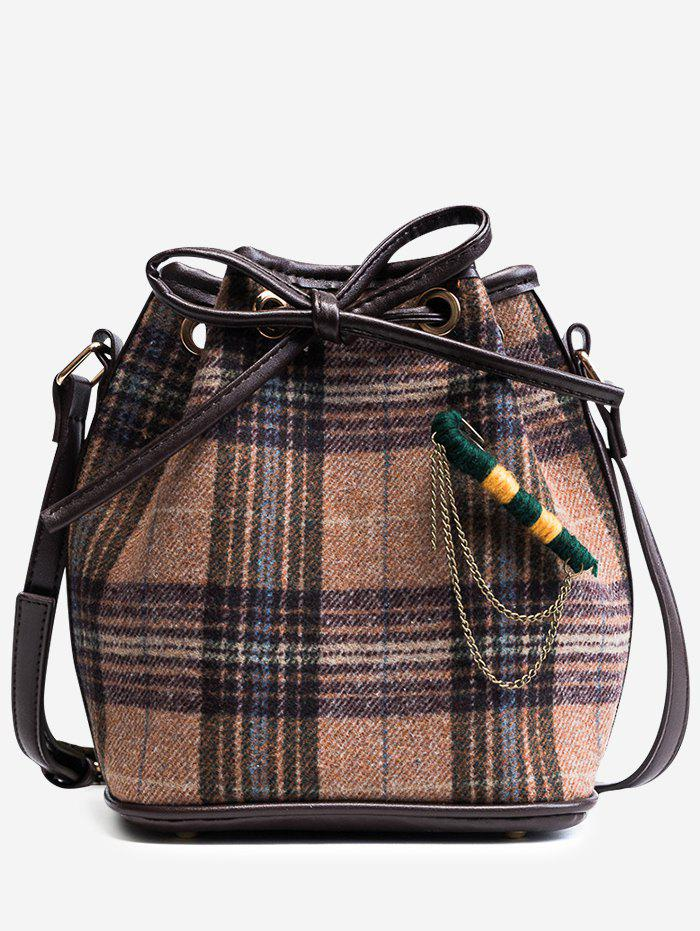 Outfit Gien Check Crossbody Bag