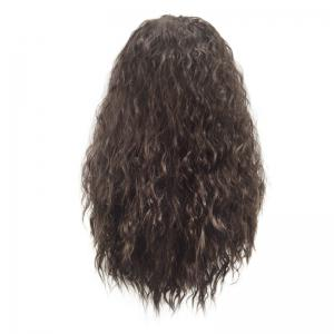 Long Fluffy Water Wave Marine Romance Moana Synthetic Cosplay Wig -