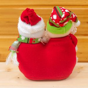 Christmas Decorations Cloth Creative Santa Claus and Snowman Doll -