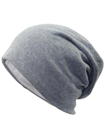 Outfits Outdoor Simple Two Layers Thicken Slouchy Beanie