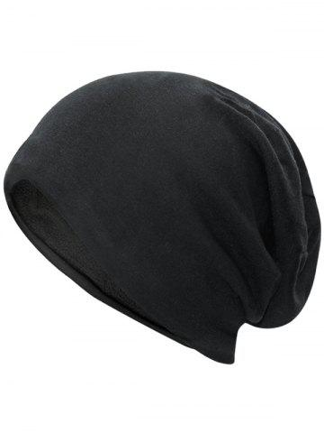 Discount Outdoor Simple Two Layers Thicken Slouchy Beanie