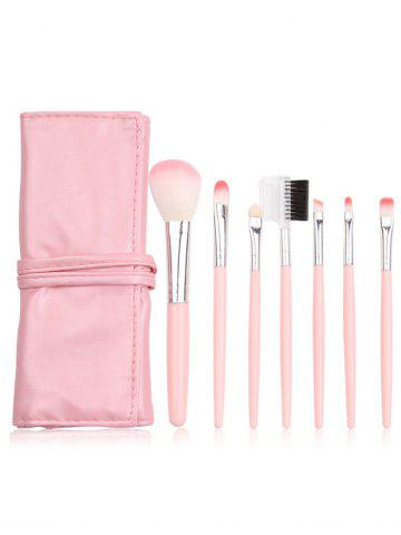 Affordable 7Pcs Portable Beauty Tools Makeup Brushes Set With Bag