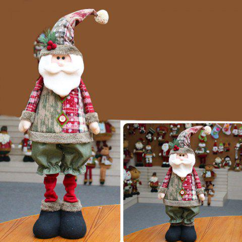 Outfit Santa Claus Snowman Reindeer Stretchable Doll Christmas Decoration