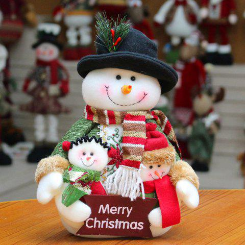Online Santa Claus Snowman Dress-up Cloth Doll Ornament Christmas
