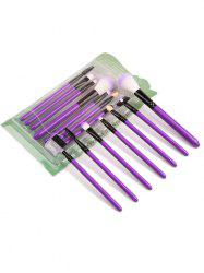 7Pcs Portable Beauty Tools Makeup Brushes Set -