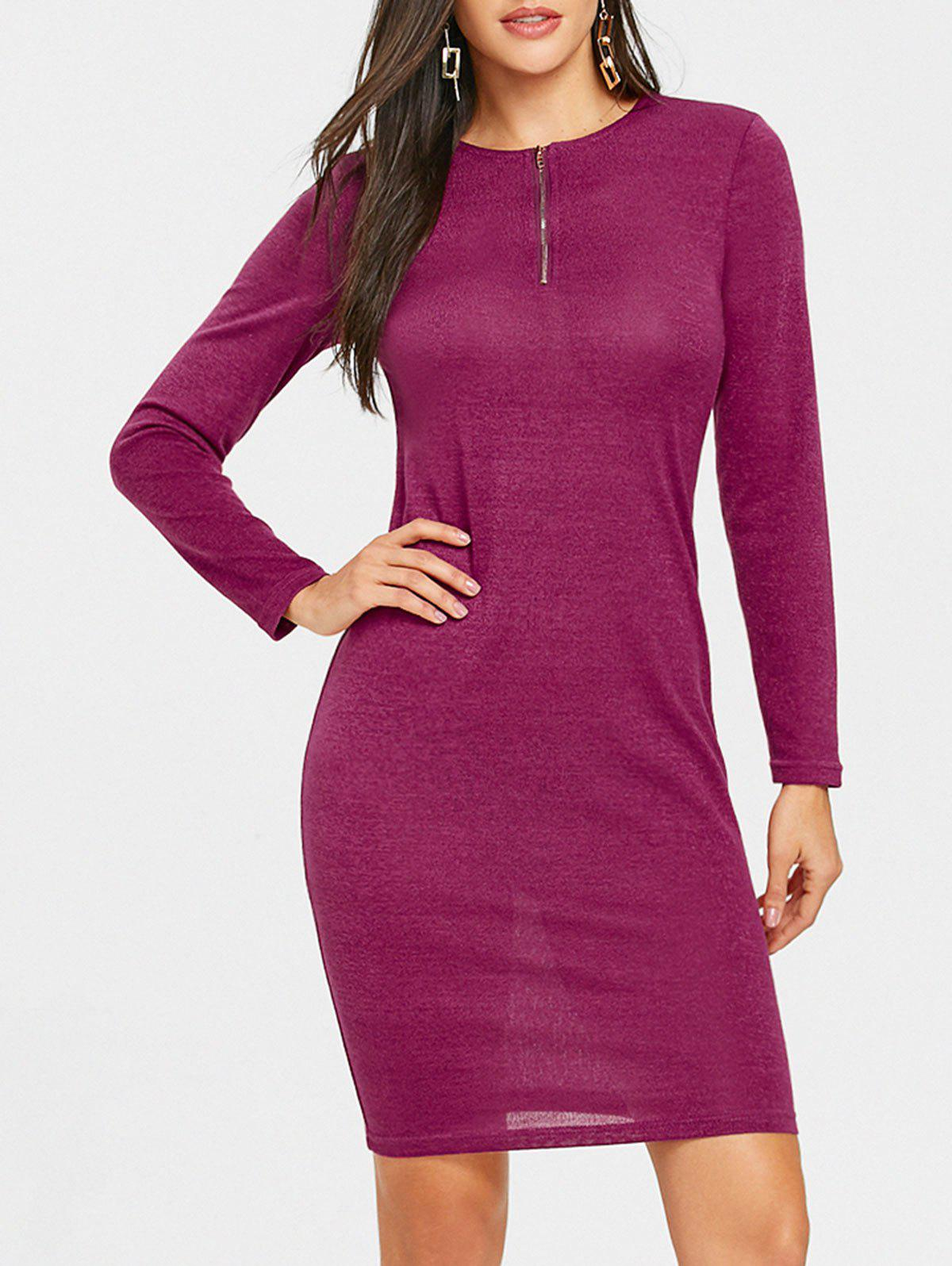 Outfit Long Sleeve Mini Bodycon Dress