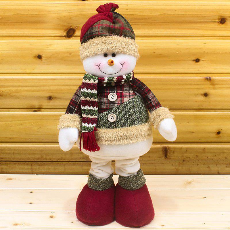 Shops Winter Dress-up Santa Claus or Snowman Stretchable Cloth Doll