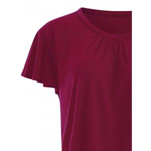 T-Shirt Simple Grande-Taille -