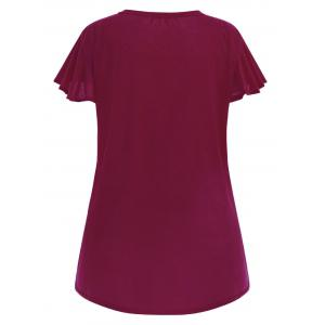T-shirt simple taille plus -