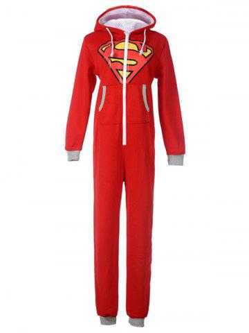 Cheap Cartoon Onesie Pajamas with Hooded