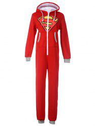 Cartoon Onesie Pajamas with Hooded -