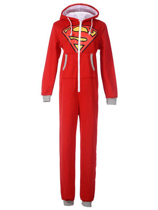 Fashion Cartoon Onesie Pajamas with Hooded