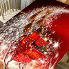 Christmas Starlight Carriage Pattern Home Decor Table Cloth -