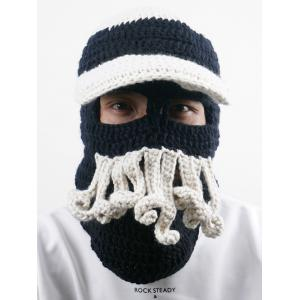 Outdoor Beard Decoration Crochet Knitted Beanie -
