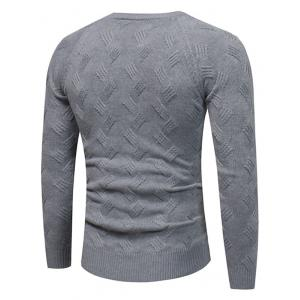 Raglan Sleeve Crew Neck Sweater -