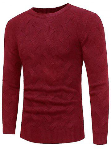 Shops Raglan Sleeve Crew Neck Sweater