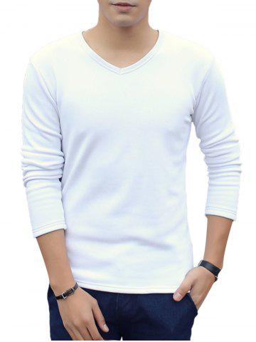 Outfit V-Neck Long Sleeve Thermal T-shirt