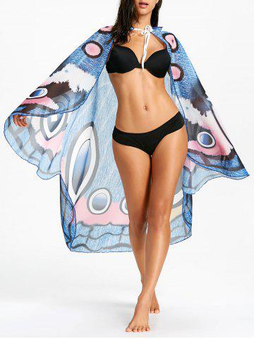 Best Butterfly Chiffon Printed Swing Beach Throw