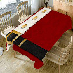 Christmas Belt Patterned Table Cloth -