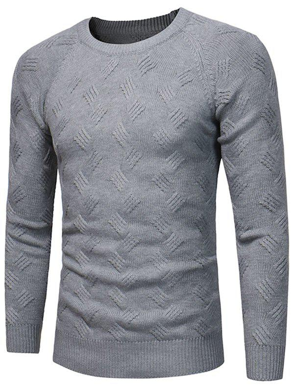 Buy Raglan Sleeve Crew Neck Sweater