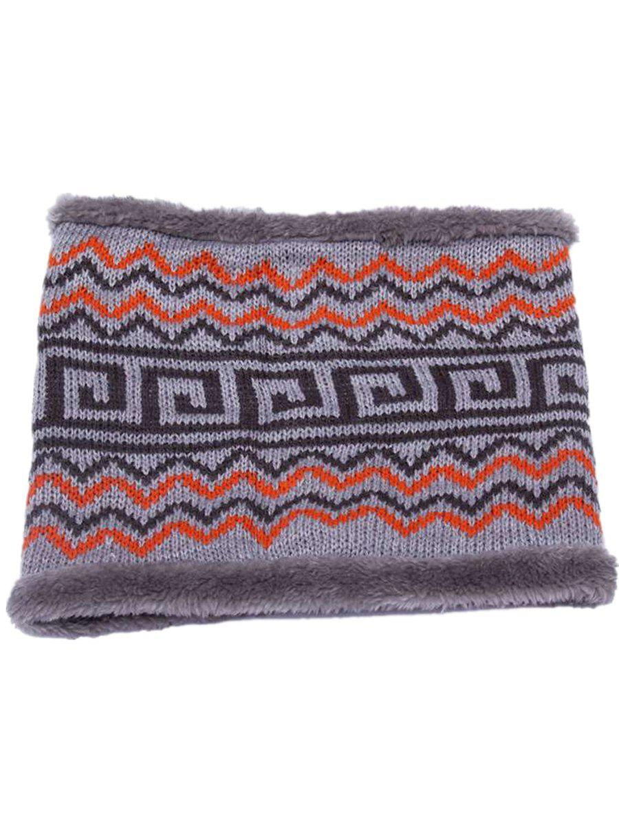 Latest Outdoor Outdoor Ethnic Style Thicken Knitted Infinity Loop Scarf