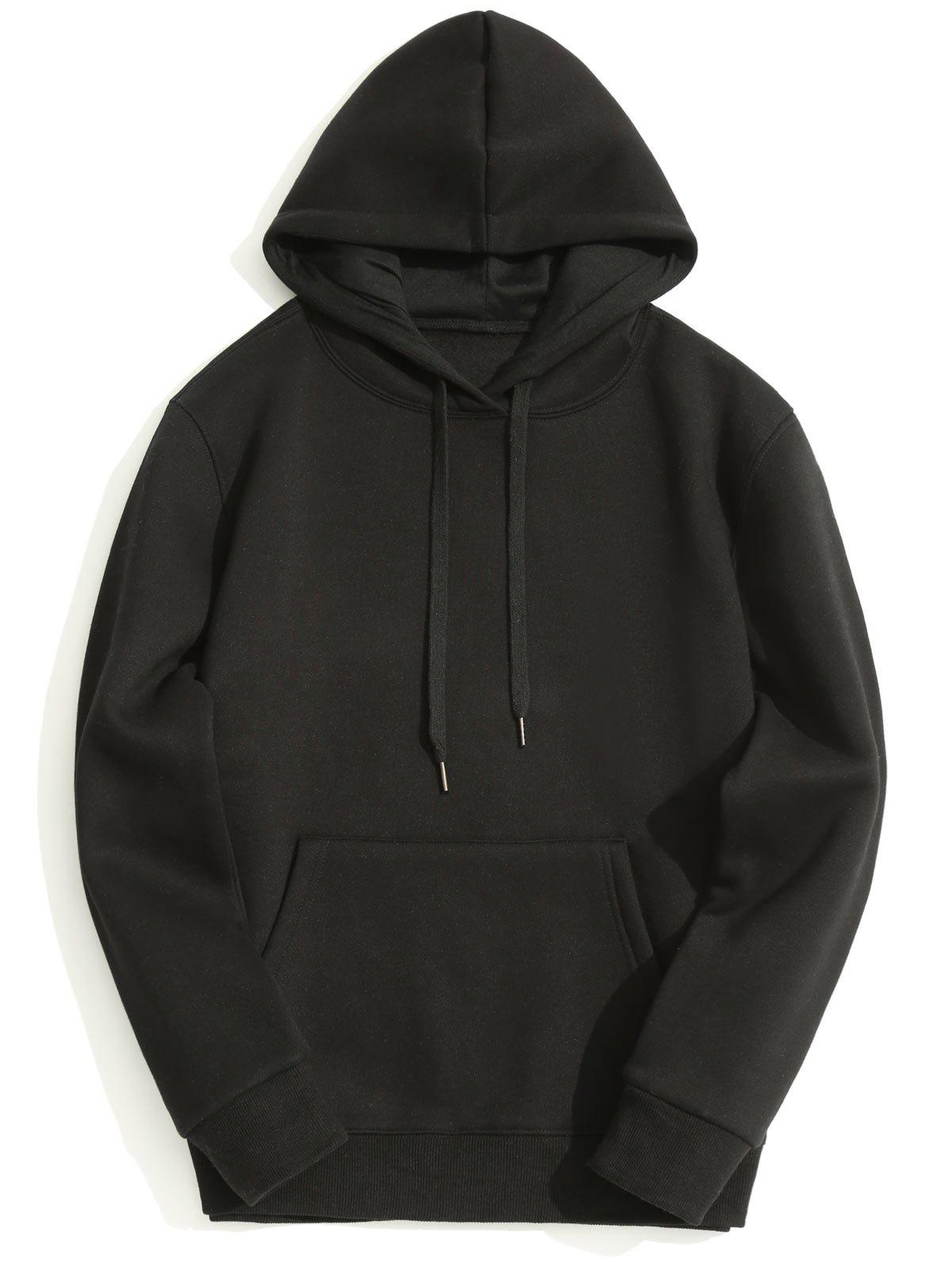 Hot Fleece Lining Mens Hoodie