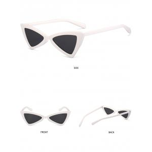 Vintage Full Frame Embellished Sun Shades Irregular Butterfly Sunglasses -