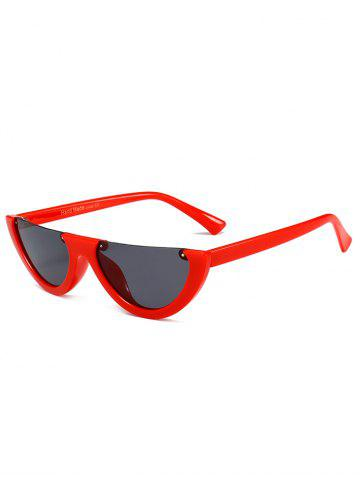 Shops Vintage Half Frame Decoration Sun Shades Cat Eye Sunglasses