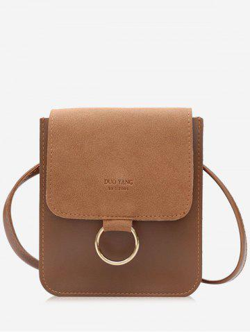 Outfit Small Crossbody Bag with Metal Hoop
