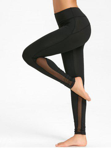 Shops Mesh Panel Workout Tights