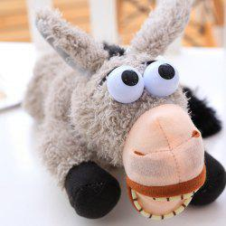 Fluffy Toy Rolling On The Floor Donkey with Laughing -