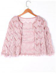 Short Fringed Jacket -