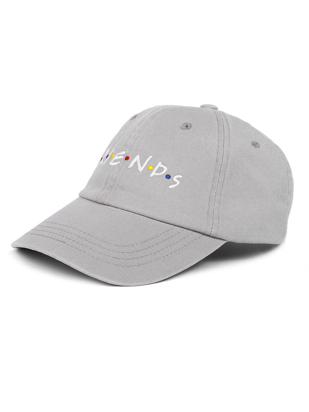 Discount Outdoor FRIENDS Pattern Embroidery Adjustable Baseball Hat