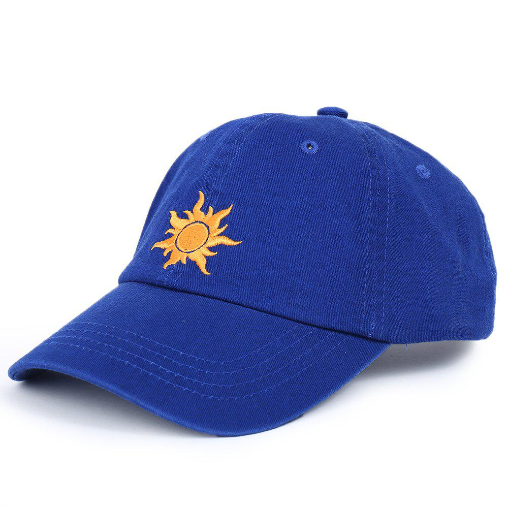 Affordable Cartoon Sun Pattern Embroidery Baseball Cap