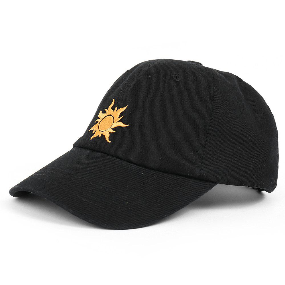 Store Cartoon Sun Pattern Embroidery Baseball Cap